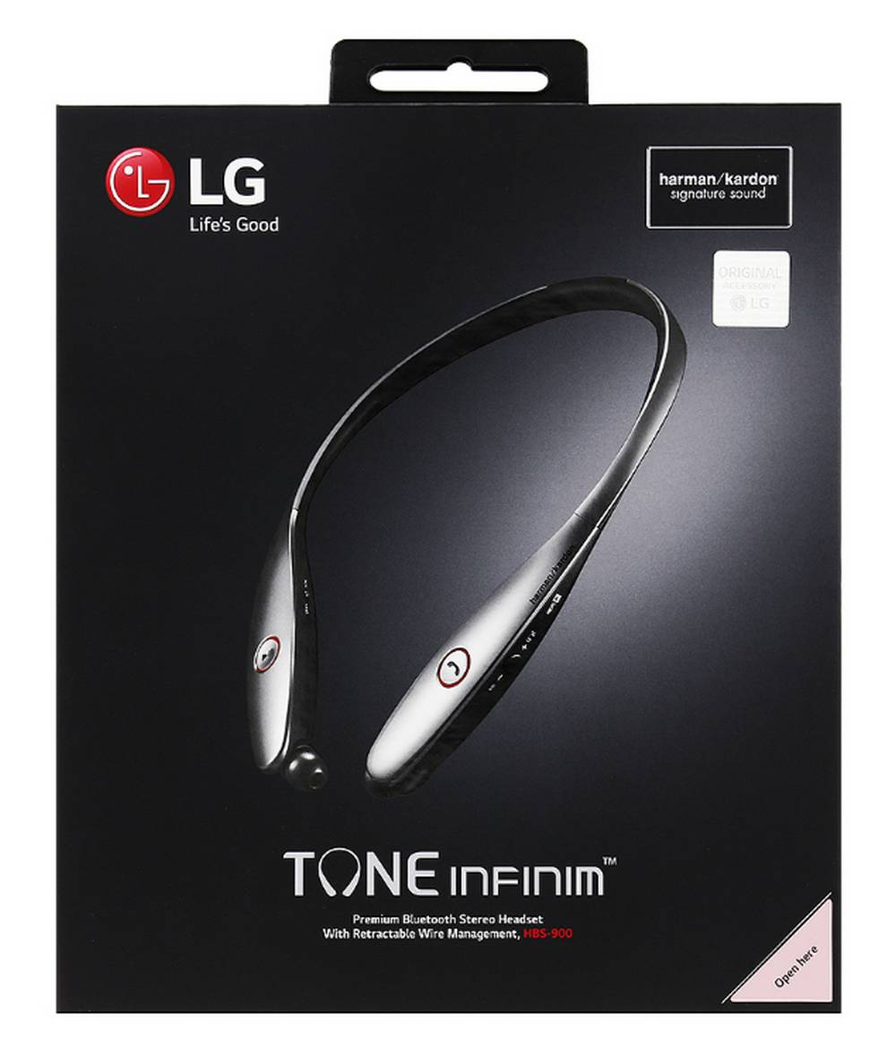 Bluetooth Hands Free LG Tone Infinim HBS-900 Μπρονζέ