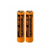 Rechargeable Battery Panasonic Ni-MH 550 mAh size AAA Pcs. 2 Bulk