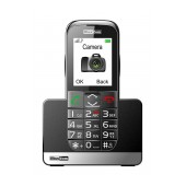 Maxcom MM720BB with Large Buttons, Bluetooth, Radio, Torch, Camera and Emergency Button Black