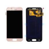 Original LCD & Digitizer Samsung SM-A320F Galaxy A3 (2017) Pink GH97-19732D