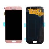 Original LCD & Digitizer Samsung SM-A520F Galaxy A5 (2017) Pink GH97-19733D