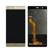 Original LCD & Digitizer Huawei P9 Gold without Frame