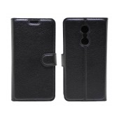 Book Case Ancus Teneo for Lenovo K6 Note TPU Black