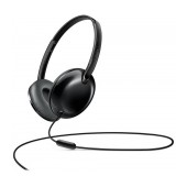 Stereo Headphone Philips SHL4405BK/00 for Apple-Samsung-Sony-Huawei-LG with Microphone 3.5 mm Black