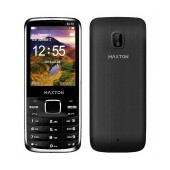 Maxton Classic M55 (Dual Sim) with Camera, Bluetooth, Torch and FM Radio Black