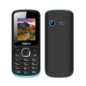 Maxcom MM128 (Dual Sim) with Camera, Bluetooth, Torch and FM Radio Black - Blue