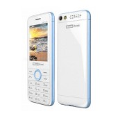 Maxcom MM136 (Dual Sim) with Camera, Torch and FM Radio White - Blue