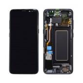 Original LCD & Digitizer Samsung SM-G950F Galaxy S8 Black GH97-20457A,GH97-20473A