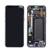 Original LCD & Digitizer Samsung SM-G955F Galaxy S8+ Black GH97-20470A; GH97-20564A