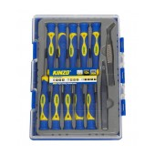 Screwdrive Kinzo 56410 Set 12 Pcs Magnetic with Tweezers
