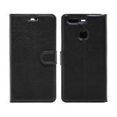 Book Case Ancus Teneo for Huawei P9 Plus / P9 Plus Dual TPU Black