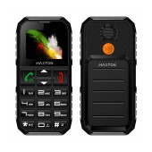 Maxton Classic M60 (Dual Sim) with Torch, FM Radio and SOS Emergency Button Black - Grey