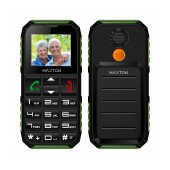 Maxton Classic M60 (Dual Sim) with Torch, FM Radio and SOS Emergency Button Black - Green