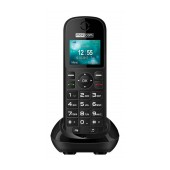 Maxcom MM35D with Large Buttons, Radio (Works without Handsfre), and Desktop Charger Black