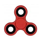 Fidget Spinner ABS Plastic 3 Leaves Red 2.5 min