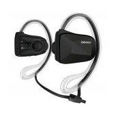 Bluetooth Hands Free Jabees BSport NFC Sweat-Proof IPX4 with Flat Cable, Multi Pairing Black