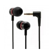 Handsfree Ancus Jabees Stereo in-Earbud 3.5 mm Black 50 cm for Hands Free - Bluetooth