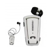 Bluetooth hands free Fineblue F-V3 White with Bluetooth 4.0 Version, Expanded Receiver, and Charging Cable