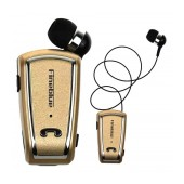 Bluetooth hands free Fineblue F-V3 Gold with Bluetooth 4.0 Version, Expanded Receiver, and Charging Cable