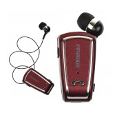 Bluetooth hands free Fineblue F-V3 Bordaux with Bluetooth 4.0 Version, Expanded Receiver, and Charging Cable