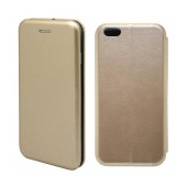 Book Case Ancus Magnetic Curve for Apple iPhone 6/6S Gold