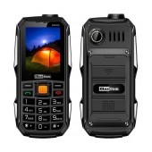 Maxcom Strong MM899 (Dual Sim) Power Bank 4000mAh with USB, Bluetooth, Torch, FM Radio and Camera Black