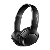 Bluetooth Stereo Headphone Philips BASS+ SHB3075BK/00 for Apple-Samsung-Sony-Huawei-LG with Microphone Black