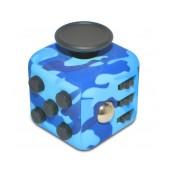 Fidget Cube 6 Sides Blue