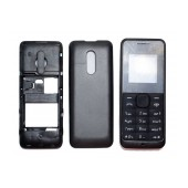 Front Cover Nokia 106 with keyboard Black OEM