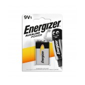 Battery Power Alkaline Energizer 6LR61 size 9V Psc. 1