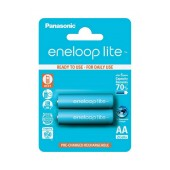 Rechargeable Battery Panasonic eneloop lite BK-3LCCE/2BE 950 mAh size AA Ni-MH 1.2V Τεμ. 2