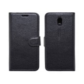 Book Case Ancus Teneo for Nokia 3 TPU Black