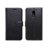 Book Case Ancus Teneo for Nokia 5 TPU Black