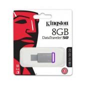 USB 3.1 Gen 1 Kingston Data Traveler 50 8GB Metal Frame DT50/8GB