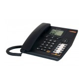 Telephone Alcatel Temporis 780 Black, with Display, Speakerphone and Headset Socket (RJ9)