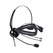 Wired Headset Tiptel 9010 with RJ9 Conn comp with Panasonic, Philips, Gigaset, Alcatel Dect
