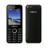 Maxcom MM136 (Dual Sim) with Camera, Torch and FM Radio Black - Silver