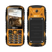 Maxcom MM920 Water-dust proof IP67 with Torch, FM Radio (Works without Handsfre) and Camera Orange - Black