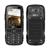 Maxcom MM920 Water-dust proof IP67 with Torch, FM Radio (Works without Handsfre) and Camera Black