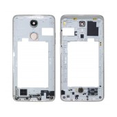 Middle Frame Cover LG K8 (2017) M200N with Buzzer, Antenna and Camera Lens Titan Original ACQ89749501