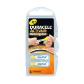 Hearing Aid Batteries Duracell 10 Activair 1,45V Pcs. 6