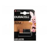Battery Αlkaline Duracell Long Lasting LR8D425 / MX2500 size AAAA Pcs. 2