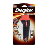 Torch Energizer Impact Rubber 1 Led 60 Lumens with Batteries 2 x AAA Black