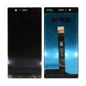 LCD & Digitizer Nokia 3/3 Dual Black without Frame, Tape