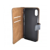 Book Case Ancus Cobus for Apple iPhone X / XS Black