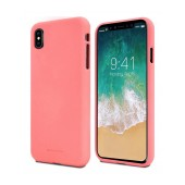 Case Soft Feeling Goospery for Apple iPhone X Pink by Mercury