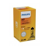 Headlight Bulb Philips H7 Vision 12V, 55W, PX26d, +30% More Vision