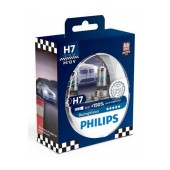 Headlight Bulb Philips H7 RacingVision 12V, 55W, +150% More Vision 2 Pcs