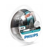 Headlight Bulb Philips H1 X-tremeVision 12V, 55W, +130% More Vision Set 2 Pcs