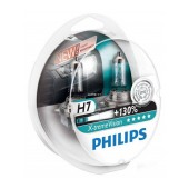 Headlight Bulb Philips H7 X-tremeVision 12V, 55W, +130% More Vision Set 2 Pcs